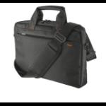 "Trust 21030 13.3"" Briefcase Black notebook case"