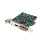 StarTech.com PCI Express HD Video Capture Card 1080p30 – HDMI / DVI / VGA / Component