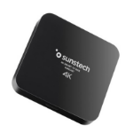 Sunstech Suncast 8 GB Wifi Ethernet Negro 4K Ultra HD