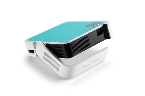 Viewsonic M1 mini data projector 50 ANSI lumens LED WVGA (854x480) Portable projector White