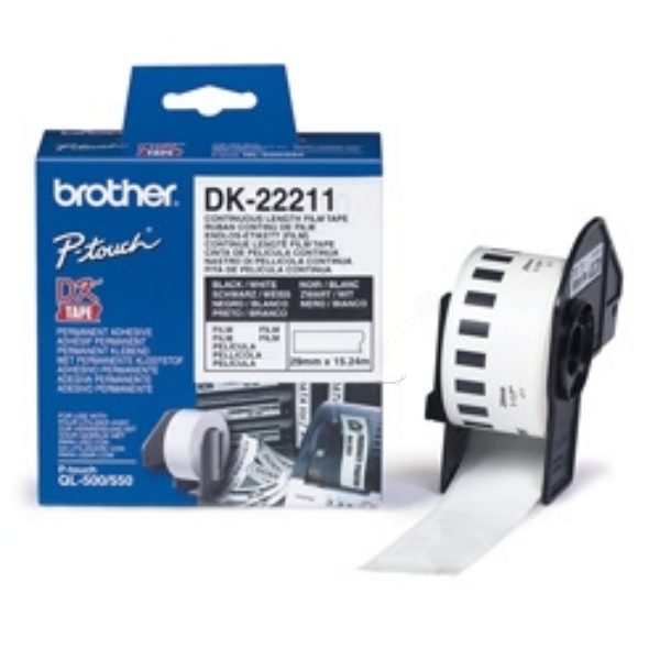 Brother DK-22211 P-Touch Etikettes, 29mm x 15,24m