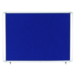 Bi-Office VT350607760 bulletin board Fixed bulletin board Blue Aluminium