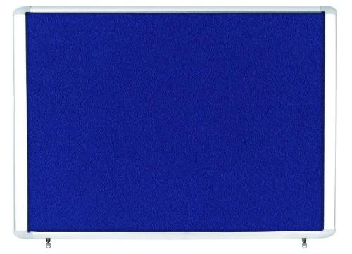Bi-Office VT350607760 bulletin board Fixed bulletin board Blue Aluminium