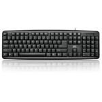 DYNAMODE LMS Data K9014 Black Standard Keyboard USB Keyboard