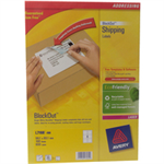 Avery L7166-100 White 600pc(s) self-adhesive label