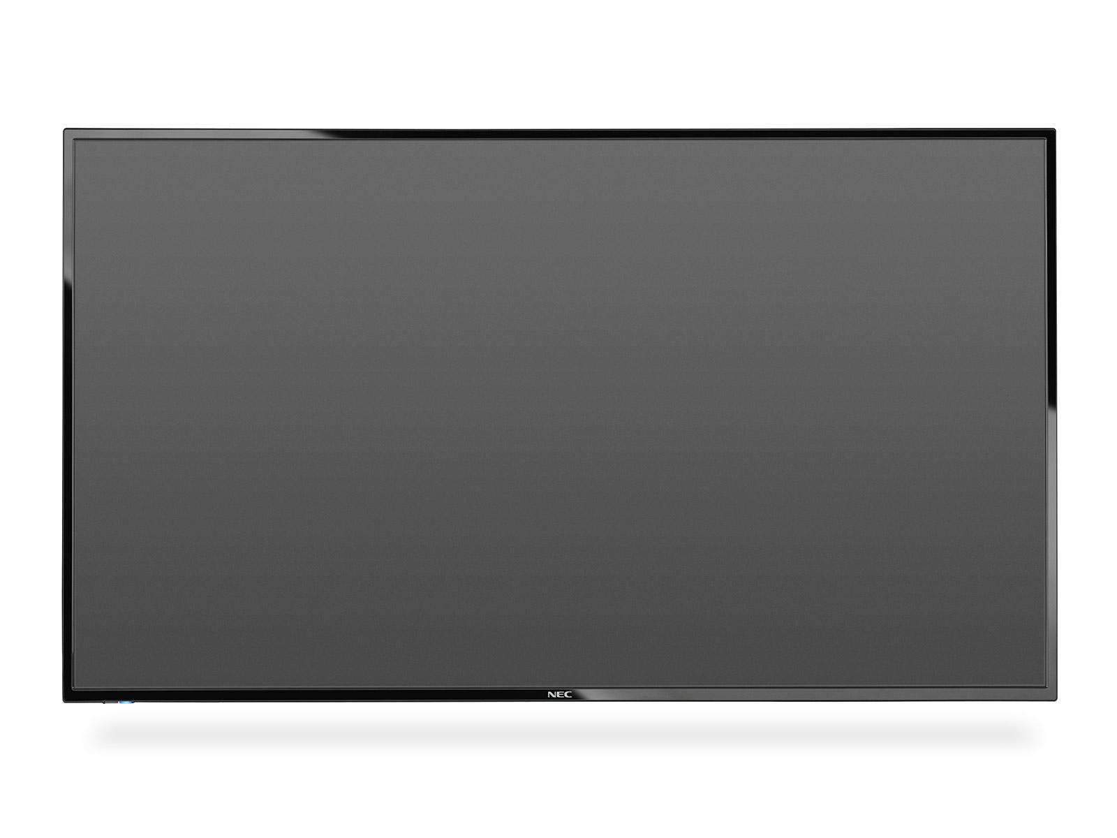 "NEC MultiSync E436 109.2 cm (43"") LED Full HD Digital signage flat panel Black"