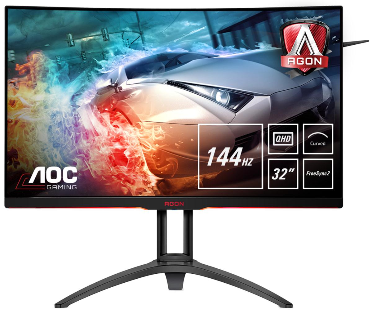Curved Monitor - Ag322qc4 - 31.5in - 2560x1440 (wqhd) - 4ms