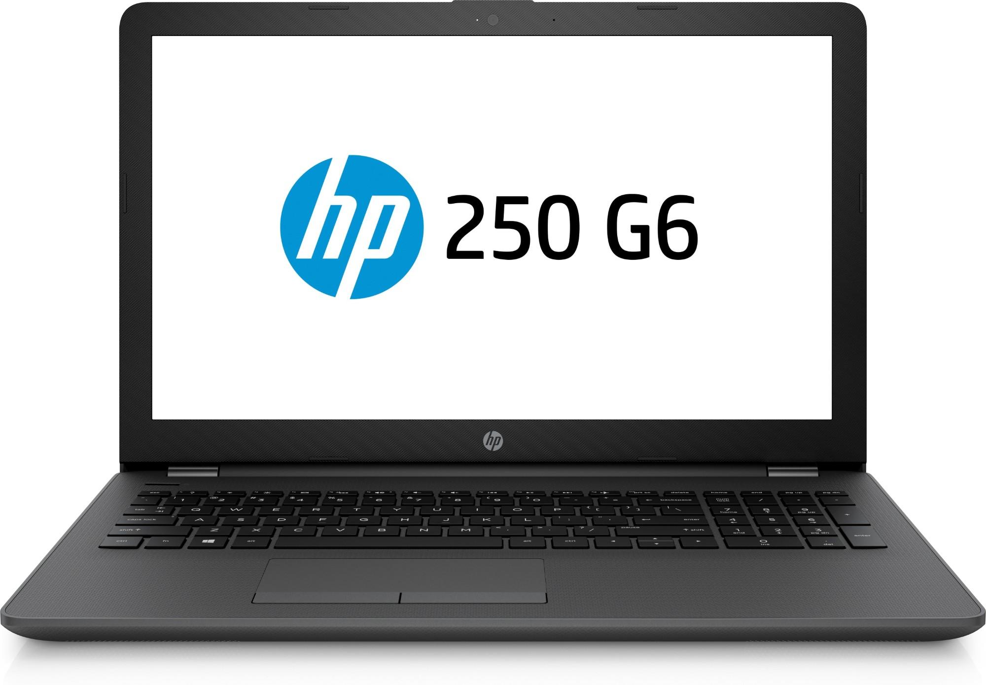 """HP 250 G6 Black Notebook 39.6 cm (15.6"""") 1920 x 1080 pixels 7th gen Intel® Core™ i7 i7-7500U 8 GB DDR4-SDRAM 256 GB SSD"""