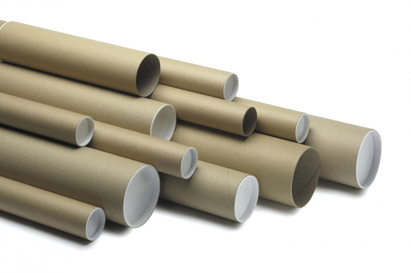 LSM Postal Tube 1125 x 100mm Brown PK5