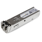 StarTech.com MSA Uncoded SFP Module - 1000BASE-SX - 1GbE Multi Mode Fiber (MMF) Optic Transceiver - 1GE Gigabit Ethernet SFP - LC 550m - 850nm - DDM