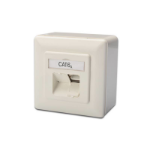 Digitus DN-9007-S-1 White switch plate/outlet cover