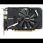 MSI GEFORCE GTX 1050 TI AERO ITX 4G OCV1 GeForce GTX 1050 Ti 4GB GDDR5