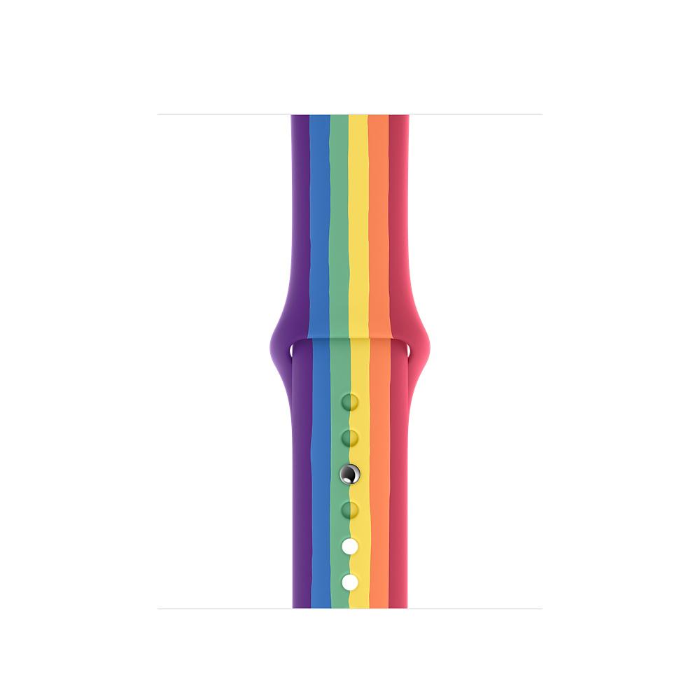 Apple MY1X2ZM/A accesorio de relojes inteligentes Grupo de rock Multicolor Fluoroelastómero