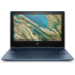 "HP Chromebook x360 11 G3 EE Azul 29,5 cm (11.6"") 1366 x 768 Pixeles Pantalla táctil Intel® Celeron® N 4 GB LPDDR4-SDRAM 32 GB eMMC Wi-Fi 5 (802.11ac) Chrome OS"