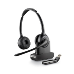 Plantronics SAVI W420 Binaural Head-band Black headset