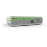 Allied Telesis FS710/5E Unmanaged Fast Ethernet (10/100) Green,Grey