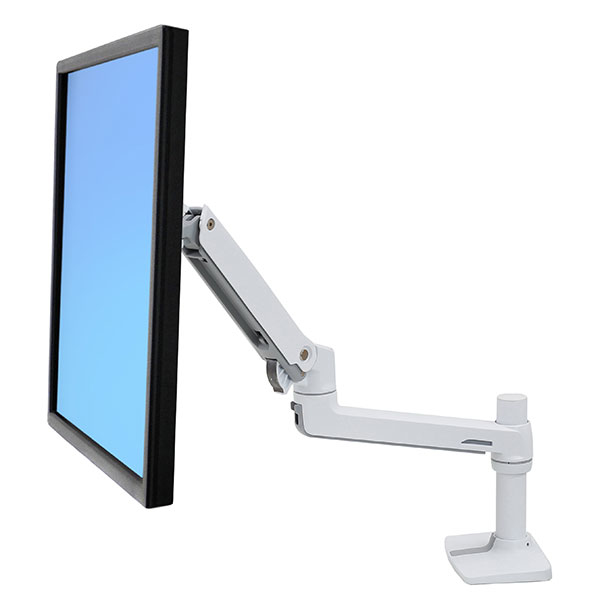 """Ergotron LX Series 45-490-216 soporte de mesa para pantalla plana 81,3 cm (32"""") Blanco"""
