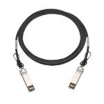 """QNAP CAB-DAC30M-SFP28 fiber optic cable 118.1"""" (3 m) QSFP28 Black"""