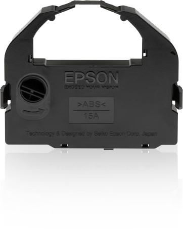 Epson SIDM Black Ribbon Cartridge for EX-800/1000 (C13S015054) printer ribbon