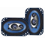 Pyle PL463BL Oval 3-way 240W car speaker