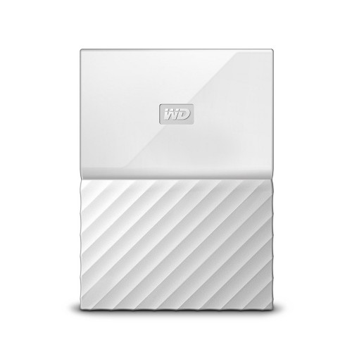 Western Digital My Passport external hard drive 2000 GB White