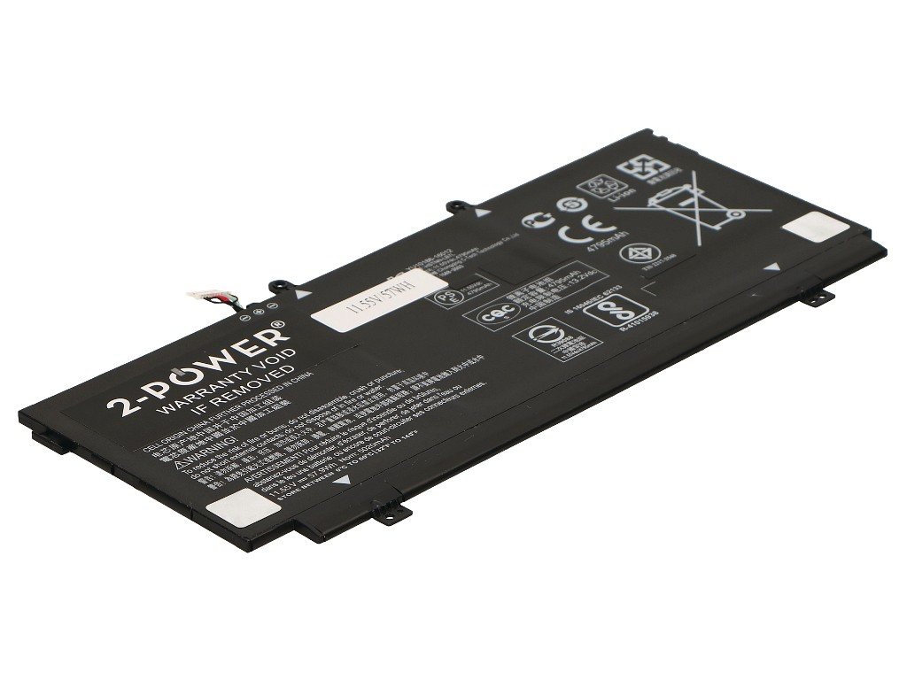 2-Power 11.6v, 3 cell, 57Wh Laptop Battery - replaces TPN-Q178