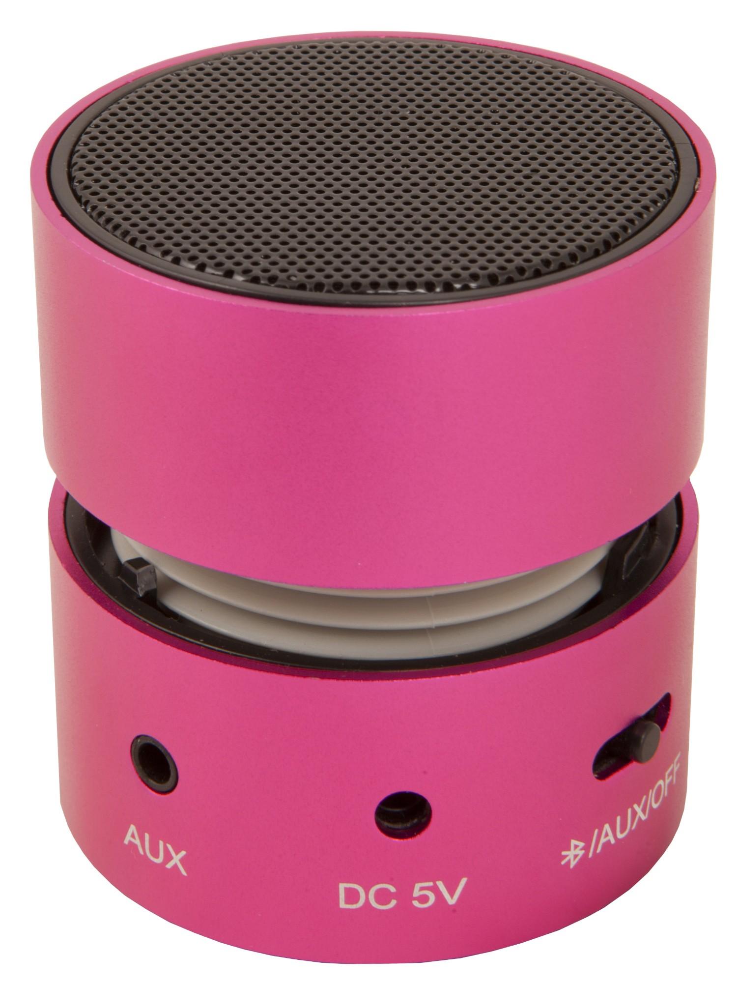 Urban Factory Mini Speaker 3 W Altavoz monofónico portátil Rosa
