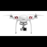 DJI Phantom 3 Standard 4rotors 12MP 2704 x 1520pixels 4480mAh White camera drone