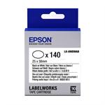 Epson C53S658902 (LK-8WBWAB) DirectLabel-etikettes, 25mm x 38mm