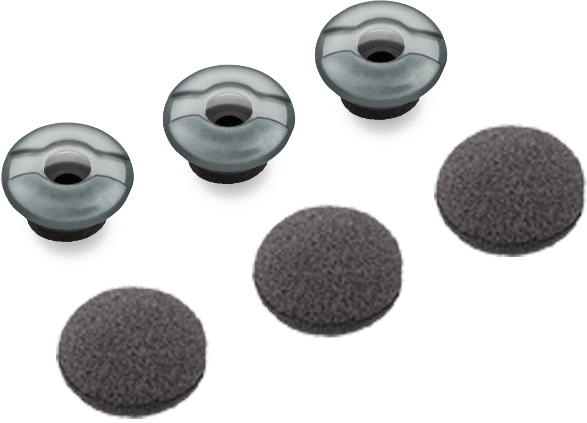 Plantronics 81292-02 Silicone Grey 3pc(s) headphone pillow