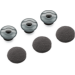 Plantronics 81292-02 almohadilla para auriculares Gris Silicona 3 pieza(s)
