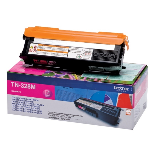Brother TN-328M Toner magenta, 6K pages