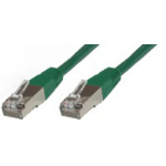 Microconnect Cat5e 1m 1m Green networking cable
