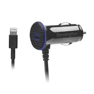 Kensington PowerBolt™ 3.4 Dual Fast Charge Car Charger with Lightning™ Cable