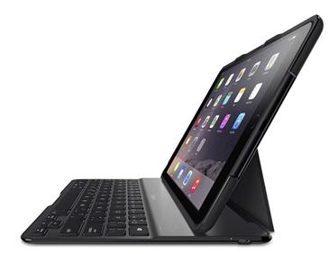 Belkin QODE mobile device keyboard Black QWERTY UK English