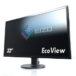 "EIZO FlexScan EV3237 31.5"" 4K Ultra HD IPS Black computer monitor"