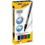 BIC Velleda Liquid Ink Pocket marker 4 pc(s) Black,Blue,Green,Red Bullet tip