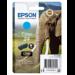 Epson Elephant Cartucho 24 cian (etiqueta RF)