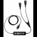 Jabra Link 265 audio cable USB2.0 2x QD Black