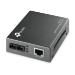 TP-LINK MC210CS convertidor de medio 1000 Mbit/s 1310 nm Monomodo Negro