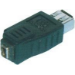 Microconnect FireWire Adapter 6P-4P F-F