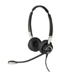 Jabra Biz 2400 II USB Duo BT MS USB Binaural Head-band Black,Silver headset