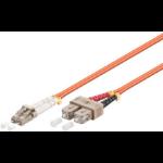 Microconnect FIB4200005-2DC 0.5m LC SC Orange fiber optic cable