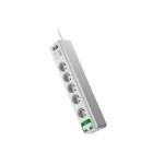 APC PM5U-FR limitador de tensión 5 salidas AC 230 V 1,83 m Blanco