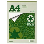 Silvine EVERYDAY RECYCLD A4 REFILLPAD