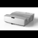 Optoma X340UST data projector Ultra short throw projector 4000 ANSI lumens DLP XGA (1024x768) 3D White