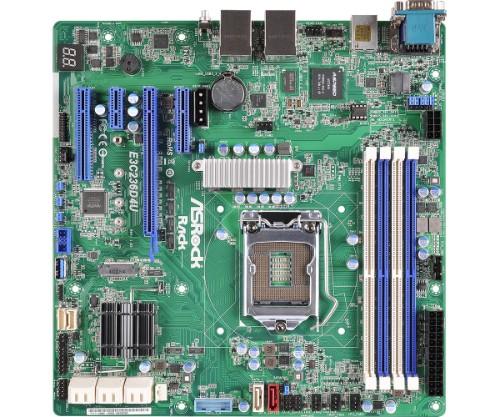 Asrock E3C236D4U server/workstation motherboard Micro ATX Intel® C236