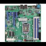 ASROCK_RACK Asrock Rack E3C236D4U Server Board Intel C236 1151 Micro ATX DDR4 Dual GB LAN IPMI LAN Serial Port
