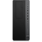 HP EliteDesk 800 G4 8th gen Intel® Core™ i7 i7-8700 16 GB DDR4-SDRAM 256 GB SSD Tower Black, Grey Workstation Windows 10 Pro