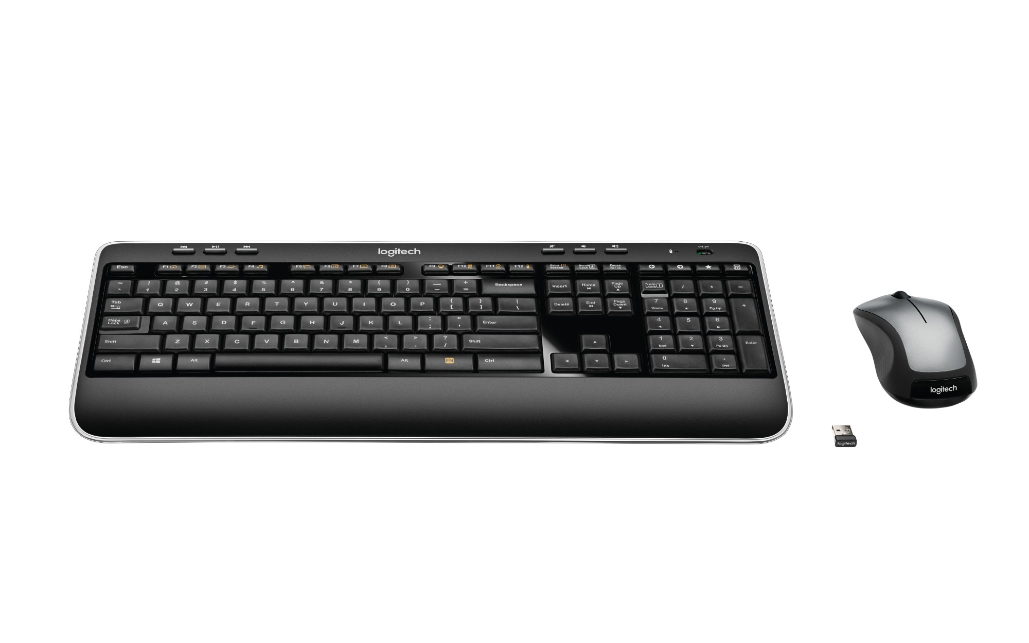 Logitech MK520 RF Wireless AZERTY French Black keyboard